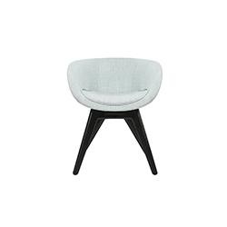 勺型低背椅   休闲椅