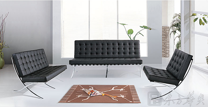 Barcelona Leisure Chair 沙发 休闲沙发 Barcelona Chair Modern
