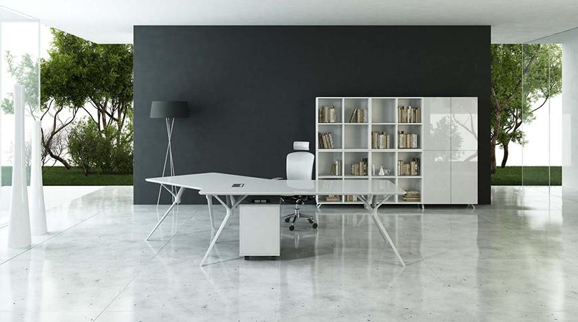 [办公台|时尚大班台|创意家具|现代家居|时尚家具|设计师家具|CG-B3001]
