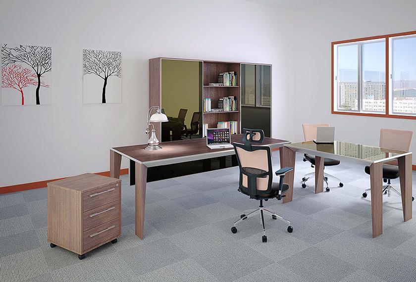 办公台|时尚大班台|办公家具|设计师家具|VINCENT