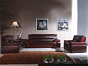 传统真皮沙发   办公沙发