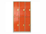6门感应锁储物柜   钢制储物柜