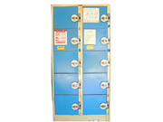 10门投币储物柜   钢制储物柜