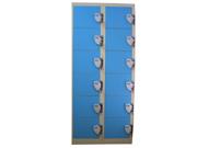 12门投币储物柜   钢制储物柜