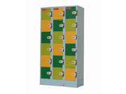 18门投币储物柜   钢制储物柜
