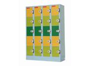 24门投币储物柜   钢制储物柜