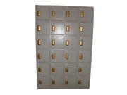 24门感应锁储物柜   钢制储物柜