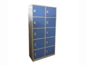10门感应锁储物柜   钢制储物柜