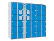36门IC卡储物柜   钢制储物柜
