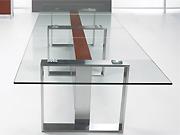玻璃会议桌   会议台