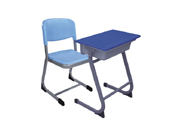单人课桌椅   学校家具