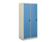 钢制两门衣柜   钢制储物柜