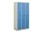 钢制三门更衣柜   钢制储物柜