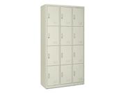 钢制十二门储物柜   钢制储物柜
