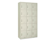 钢制十五门储物柜   钢制储物柜