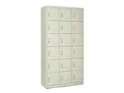 钢制十八门储物柜   钢制储物柜