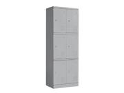 钢制六门更衣柜   钢制储物柜