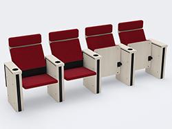 丰托思剧场椅   公共座椅