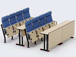 思可乐剧场椅   公共座椅
