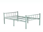 钢制单人床   公寓床