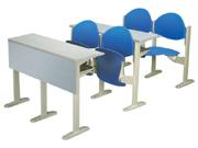 多人课桌椅   学校家具