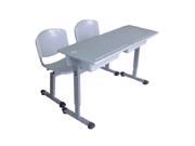 双人课桌椅   学校家具