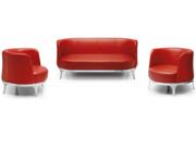 现代真皮沙发   办公沙发