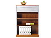 实木卷门柜   文件柜