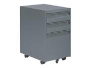 三抽活动柜   钢制文件柜