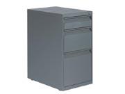 三抽有面台底柜   钢制文件柜
