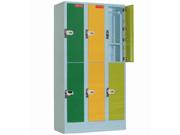 6门投币更衣柜   钢制储物柜