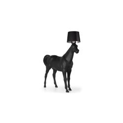 荷兰 Moooi Horse Lamp 动物系列 黑马 落地灯   落地灯