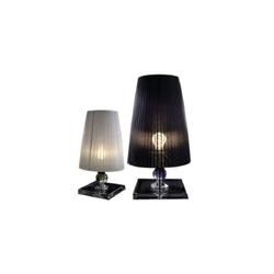 现代 简约拉丝布罩 水晶质感底座 台灯   台灯