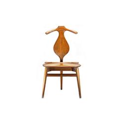 梳妆椅/侍从椅 汉斯・魏格纳  Hans Jørgensen Wegner 汉斯・魏格纳