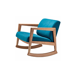 866F扶手椅 莉迪亚•布莱迪  休闲椅