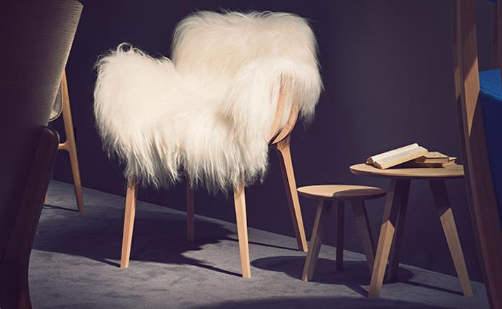 创意家具 - 坐具|餐椅|创意家具|现代家居|时尚家具|设计师家具|日本轿子软毛简易椅