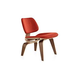 伊姆斯软垫木制休闲椅 伊姆斯夫妇  herman miller家具品牌