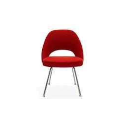 沙里宁金属脚无扶手行政椅 埃罗·沙里宁  Eero Saarinen 埃罗·沙里宁