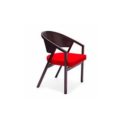 谢尔顿民德软垫扶手椅 Shelton Mindel & Associates  餐椅