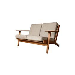 GE290双座椅 汉斯・魏格纳  休闲椅