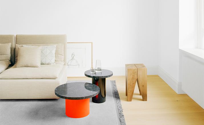 创意家具 - 桌几 茶几/边几 办公家具 设计师家具 金针菇边几