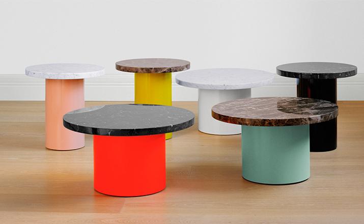 [创意家具 - 桌几|茶几/边几|创意家具|现代家居|时尚家具|设计师家具|金针菇边几]