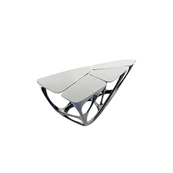 梅萨桌 hadid mesa table