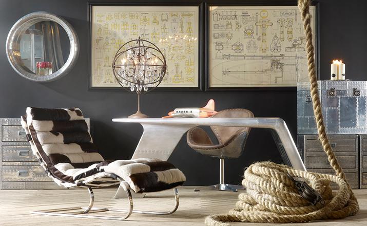 创意家具 - 桌几|办公桌|办公家具|设计师家具|飞行员瓦尔基里台