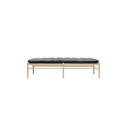 瓦西尔150沙发床带颈枕 Ole wanscher  carl hansen家具品牌