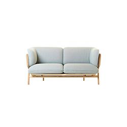 斯坦利双座沙发 卢卡・尼奇托  沙发