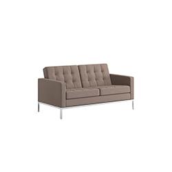 佛罗伦萨诺尔中型沙发 佛罗伦斯·诺尔  knoll家具品牌