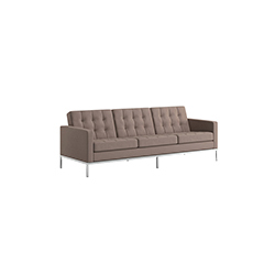 佛罗伦萨诺尔3人座沙发 佛罗伦斯·诺尔  knoll家具品牌