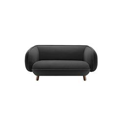 巴塞特双座沙发 伊期克斯&柏林  沙发