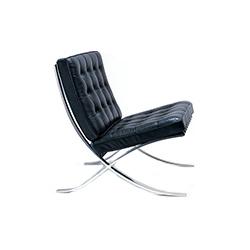 巴塞罗那椅 路德维希.密斯.凡德罗  knoll